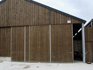 MSD Construction - Rail porte coulissante hangar